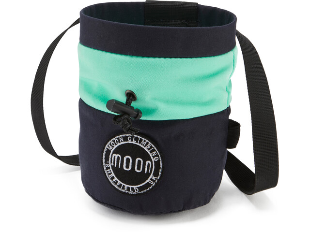 Moon Climbing S7 Retro Chalk Bag MIS green
